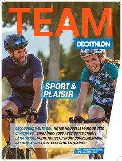 Promos de Sport dans le dépliant de Decathlon à Leeuw-Saint-Pierre