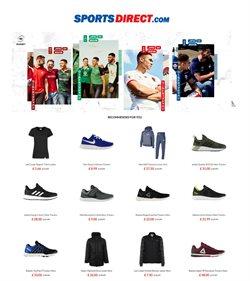 Promos de Sport dans le dépliant de Sports Direct à Bruxelles