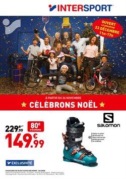 Promos de Sport dans le dépliant de Intersport à Liège