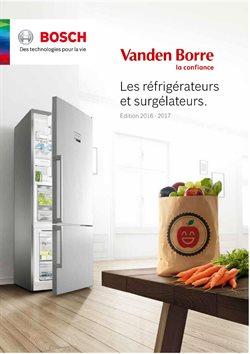 Promos de Vanden Borre dans le dépliant à Bruxelles