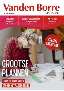 Promos de Electroménager et Multimédia dans le dépliant de Vanden Borre à Bruges