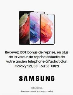 Samsung coupon ( Publié aujourd'hui)