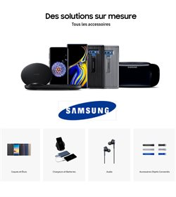 Promos de Electroménager et Multimédia dans le dépliant de Samsung à Bruxelles