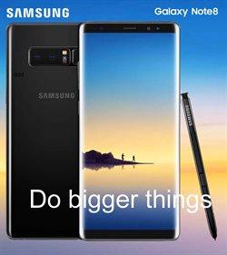 Promos de Samsung dans le dépliant à Louvain