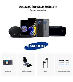 Promos de Samsung dans le dépliant à Bruxelles