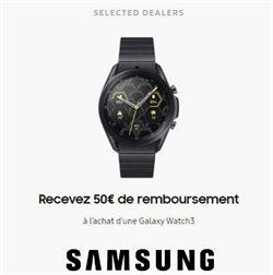Promos de Électronique dans le prospectus de Samsung à Bruxelles ( 13 jours de plus )