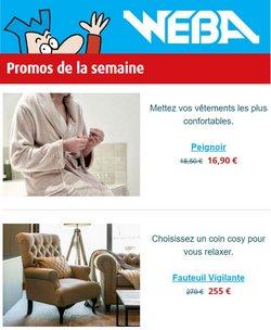 Promos de Weba dans le dépliant à Weba ( Expire demain)