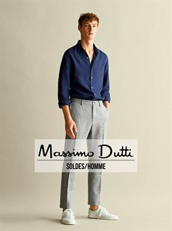 Promos de Massimo Dutti dans le dépliant à Bruxelles