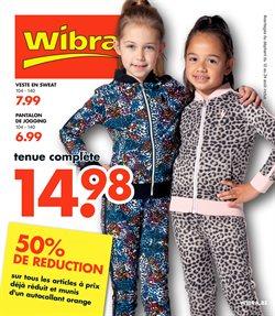 Promos de Wibra dans le dépliant à Liège