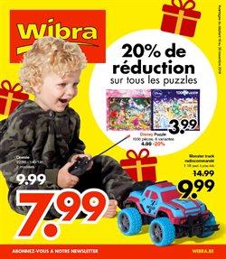 Promos de Wibra dans le dépliant à Herstal
