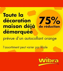 Wibra coupon à Saint-Trond ( Expire demain )