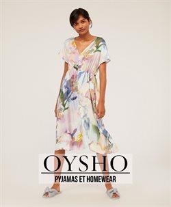 Promos de Oysho dans le dépliant à Bruxelles