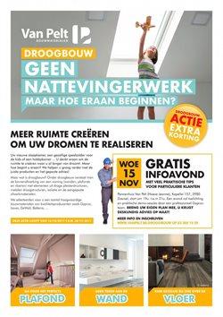 Promos de Bricolage et Jardinage dans le dépliant de Bouwpunt à Liège