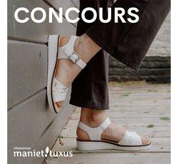 Promos de Vêtements, Chaussures et Accessoires dans le dépliant à Maniet Luxus ( 4 jours de plus)