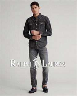 Promos de Ralph Lauren dans le dépliant à Bruxelles
