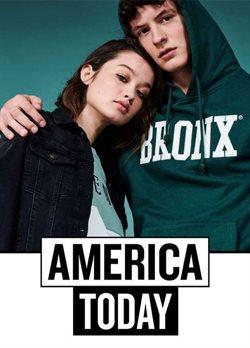 Promos de America Today dans le dépliant à Bruxelles
