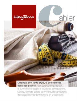 Promos de Heytens dans le dépliant à Gent