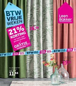 Promos de Meubles et Décoration dans le dépliant de Leen Bakker à Overijse