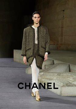 Promos de Chanel dans le dépliant à Bruxelles