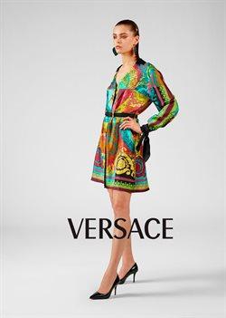 Promos de Versace dans le dépliant à Bruxelles