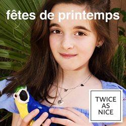 Promos de Basilix Shopping Center dans le dépliant de Twice As Nice à Bruxelles