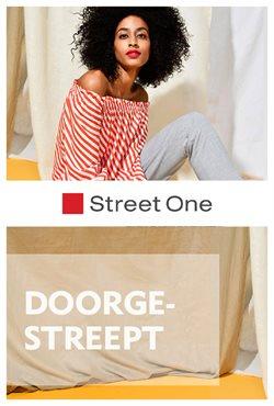 Promos de Street one dans le dépliant à Bruxelles