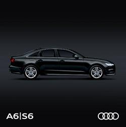 Promos de Audi dans le dépliant à Bruxelles
