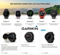 Promos de Garmin dans le dépliant à Garmin ( 24 jours de plus)