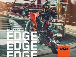 Promos de Voitures et Motos dans le dépliant à KTM ( Plus d'un mois)
