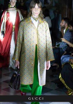 Promos de Gucci dans le dépliant à Bruxelles