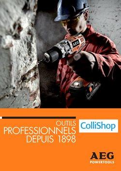 Promos de ColliShop dans le dépliant à Bruxelles