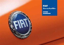 Promos de Voitures Motos et Accessoires dans le dépliant de Fiat à Gent