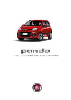 Promos de Fiat dans le dépliant à Bruxelles