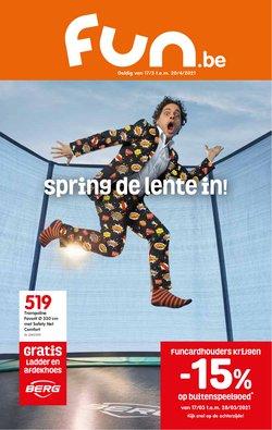 Promos de Bricolage et Jardin dans le prospectus de Fun à Bruxelles ( 8 jours de plus )