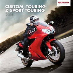 Promos de Voitures Motos et Accessoires dans le dépliant de Honda à Flémalle