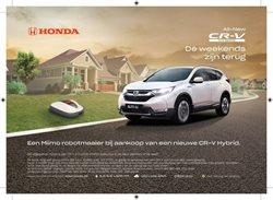 Promos de Honda dans le dépliant à Bruxelles