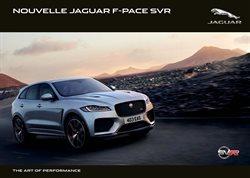Promos de Jaguar dans le dépliant à Louvain