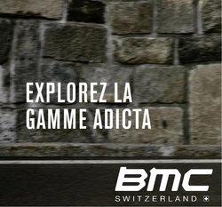 Promos de Sport dans le dépliant à BMC ( 6 jours de plus)