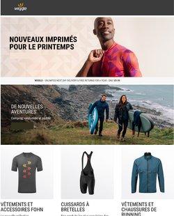 Promos de Sport dans le prospectus de Wiggle à Grammont ( Publié il y a 3 jours )