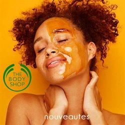Promos de Parfumeries et Beauté dans le dépliant de The Body Shop à Bruxelles