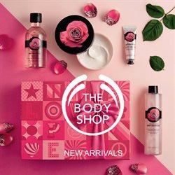 Promos de The Body Shop dans le dépliant à Bruxelles