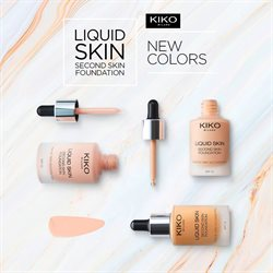 Promos de Parfumeries et Beauté dans le dépliant de Kiko à Bruxelles