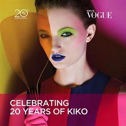 Promos de Kiko dans le dépliant à Bruxelles