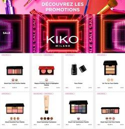 Promos de Parfumeries et Beauté dans le prospectus à Kiko ( Publié hier )