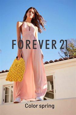 Promos de Vetêment, Chaussures et Accessoires dans le dépliant de Forever 21 à Herstal