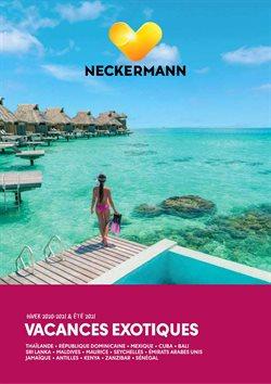 Promos de Voyages dans le prospectus à Neckermann ( Plus d'un mois )
