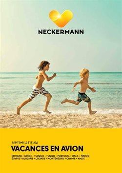 Promos de Voyages dans le prospectus de Neckermann à Saint-Nicolas ( Plus d'un mois )