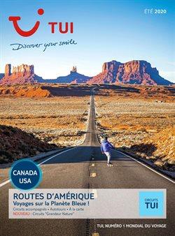 Promos de Voyages dans le prospectus à TUI ( Plus d'un mois )