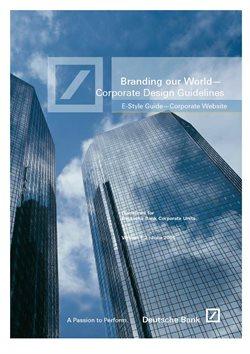 Promos de Banques, Assurances et Services dans le dépliant de Deutsche Bank à Bruxelles