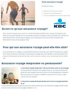 Promos de Banques et Assurances dans le dépliant à KBC Bank ( 6 jours de plus)